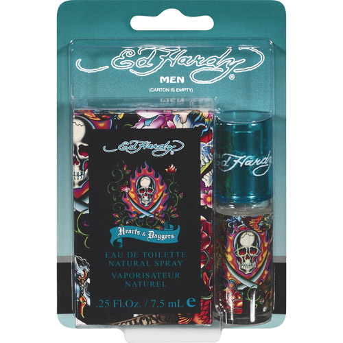 Ed Hardy Hearts & Daggers Eau De Toilette for Men, 0.25 oz