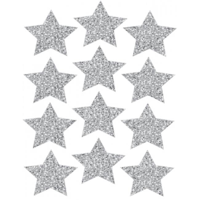 Die Cut Magnets 3 in. Gold Sparkle - image 1 de 1