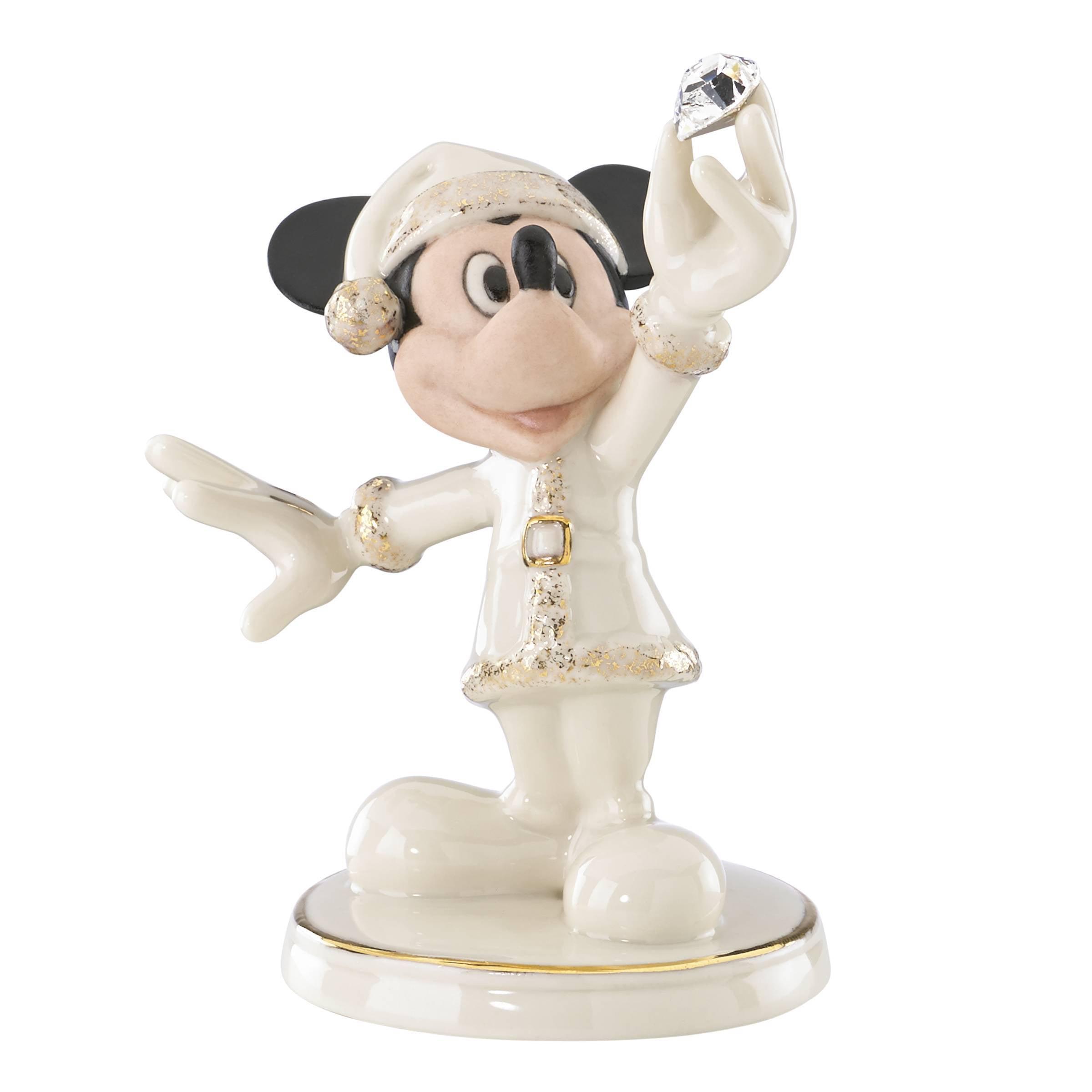 Lenox Mickey Claus Figurine