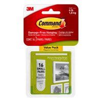 Command Small Picture Hanging Strips - Multiple Pack Sizes