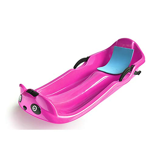 Downhill Xtreme Winter Toboggan Outdoor Snow Sled//Flexible Flying Saucer//Foldable Snow Carpet