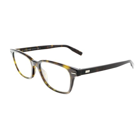 DIOR HOMME BLACKTIE224 Dk Havana Rectangle (Dior Eyeglasses Men)