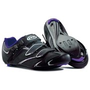 Northwave, Starlight SRS, Road shoes, Women's, Black/Violet, 37