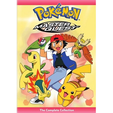 Pokemon Master Quest: The Complete Collection (DVD) (Quest Halloween The West)