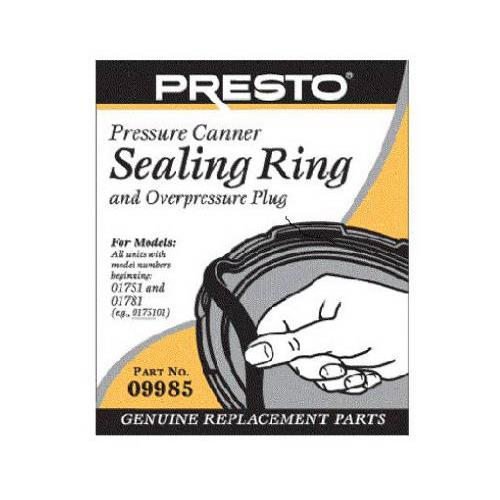 National Presto Ind 09985 Pressure Canner Sealing Ring Wi...