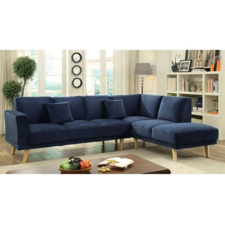 5eb8eda7ca Canterbury 3-piece Fabric Sectional Sofa Set – Charcoal, Christopher ...
