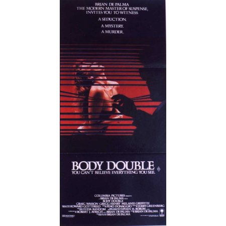 Body Double POSTER Movie Insert A (14x36)