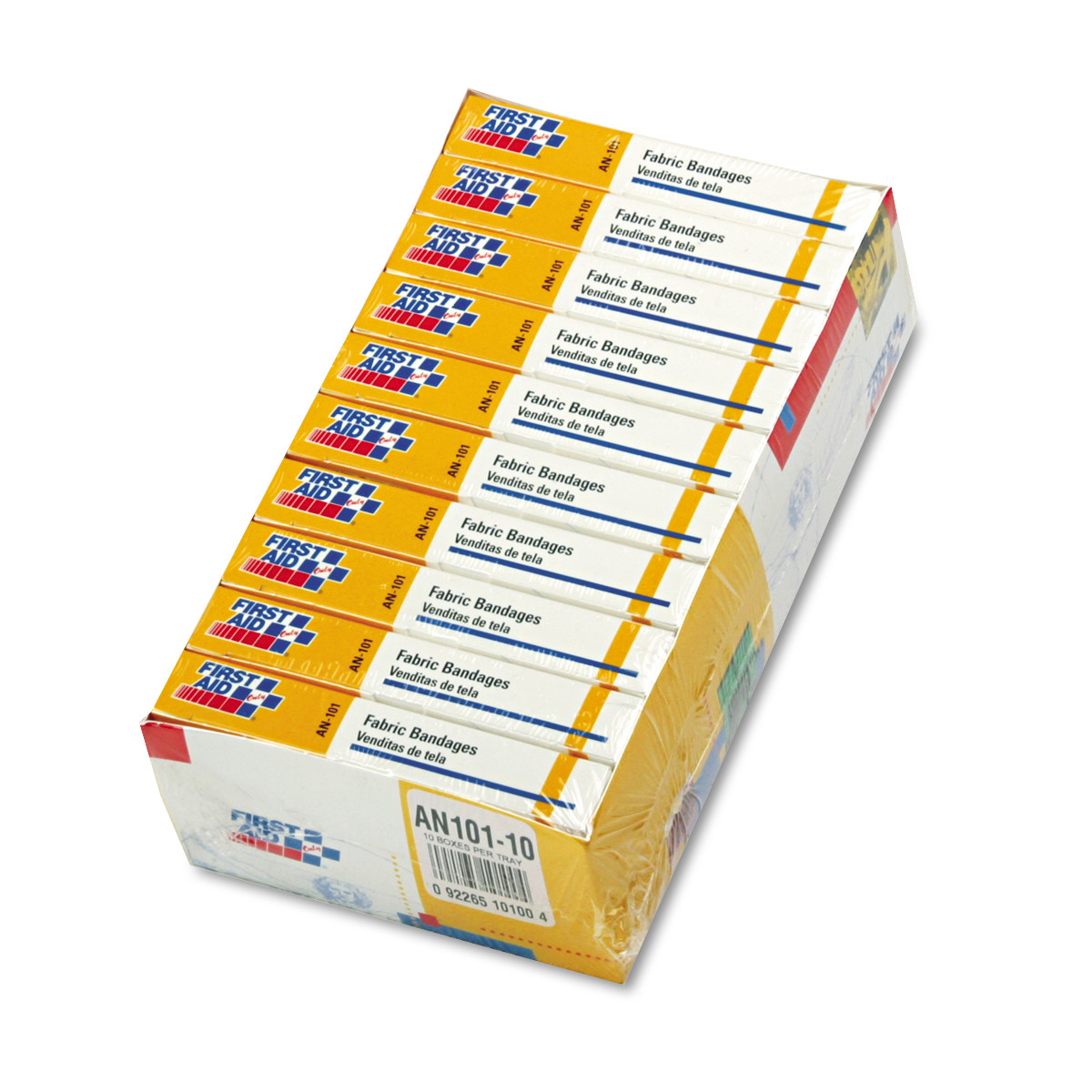"First Aid Only First-Aid Refill Fabric Adhesive Bandages, 1"" x 3"", 160/Pack"