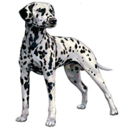 (Dalmatian Dog Counted Cross Stitch Pattern)