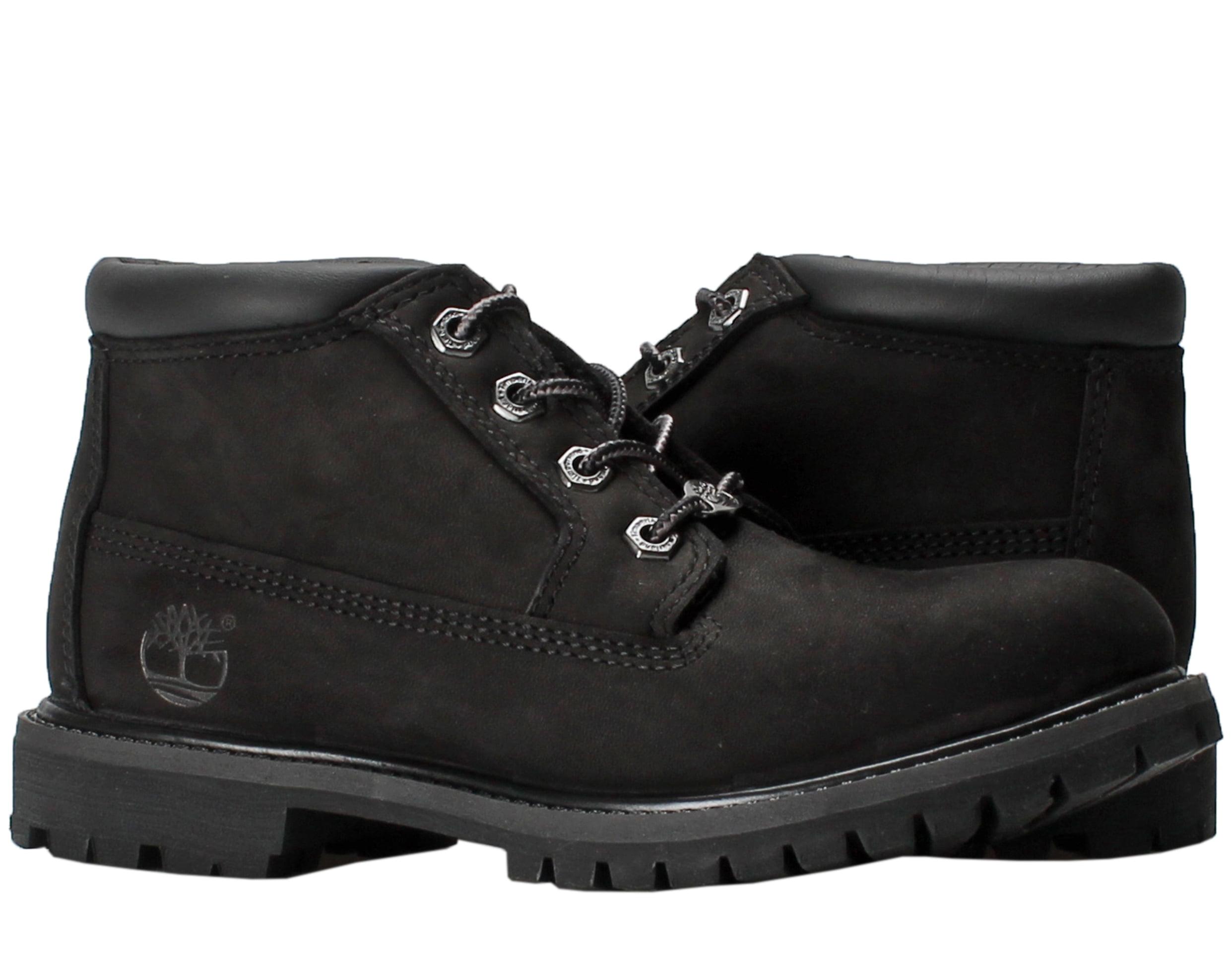 Timberland Nellie Chukka Black Nubuck Women's Boots 23398 by Timberland