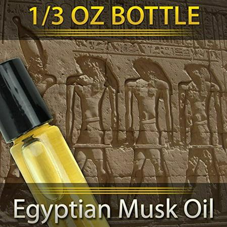 Egyptian Musk Perfume Oil -- 1/3 oz Roller Bottle