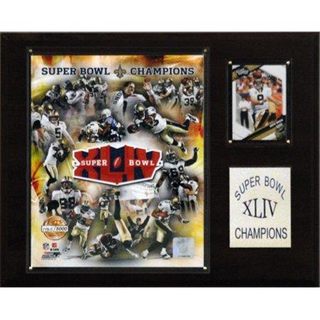 01141ec1 NFL Saints Super Bowl XLIV Limited Edition Champions Plaque ...