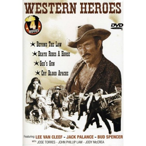 Western Heroes: Death Rides A Horse/Cry Blood Apache/Beyond The Law/Gods's Gun