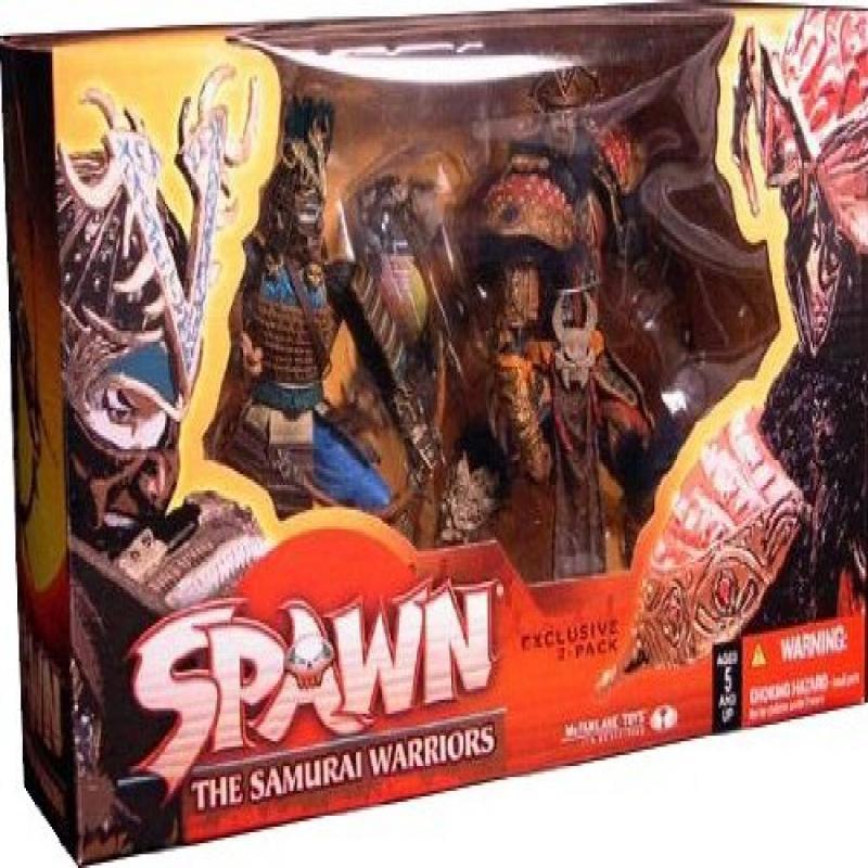 Spawn Samurai Warriors 2 Pack by
