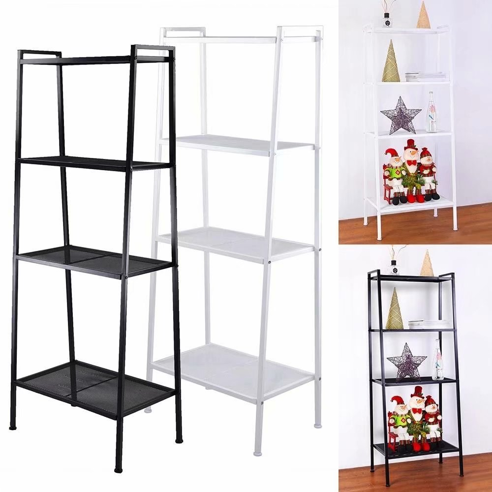 Clearance!Widen 4 Tiers Bookshelf Ivory White