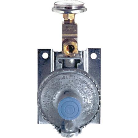 - Trident 1211-1401 Marine LPG Wall Mount Single Stage Regulator with 20
