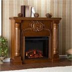 Yosemite Home Decor Adobe 38 Wall Mount Electric Fireplace