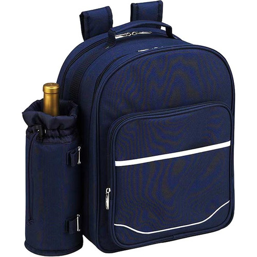 Freeport Park Picnic Backpack Cooler with Blanket and Two Place Settings