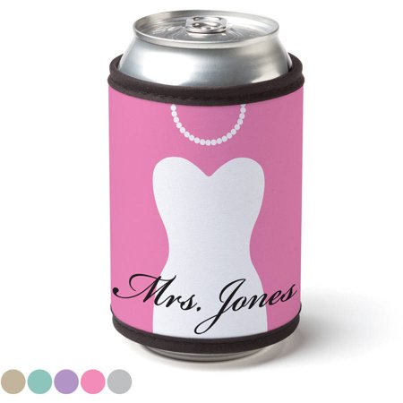 Personalized Mr. & Mrs. Can & Bottle Wrap - Personalized Hennessy Bottle
