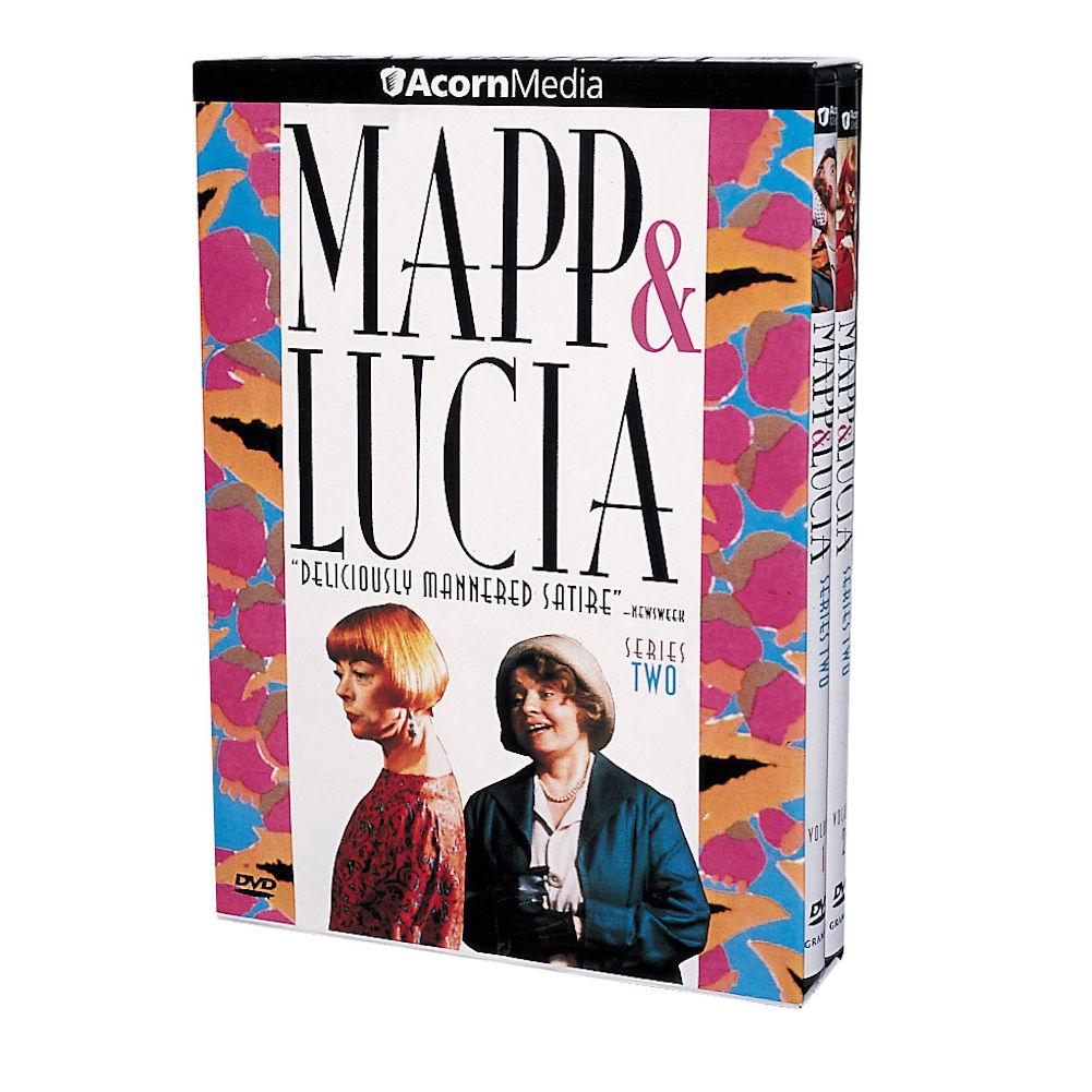 Mapp & Lucia: Series Two British Comedy Series 2 DVD Set by ACORN MEDIA