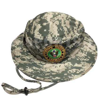U.S. Military U.S. Army Bucket Hat Digital Camo Men  s Fishing Boonie  Hiking Outdoor 4a9c0672571