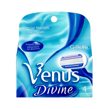 Gillette Venus Divine Cartridges - 4 CT - Walmart.com