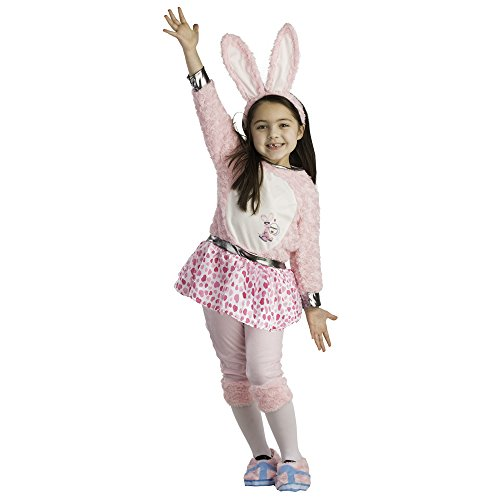 Toddler Energizer Bunny Dress Costume - Size Small 4-6