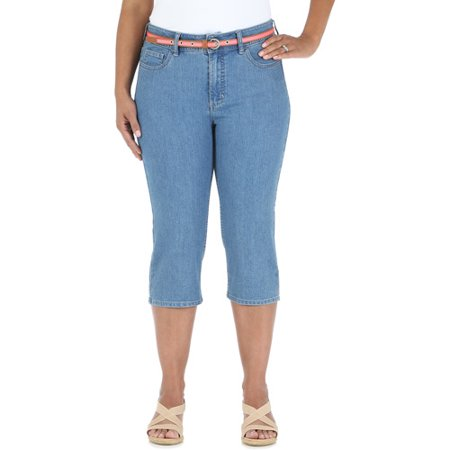 Riders by Lee Women's Plus-Size Capris - Walmart.com