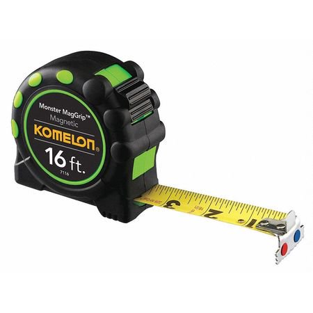 Komelon Magnetic Tip Tape Measure, 7116
