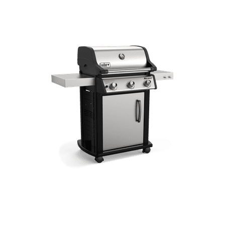 Weber Spirit S-315 LP Gas Grill, Stainless Steel