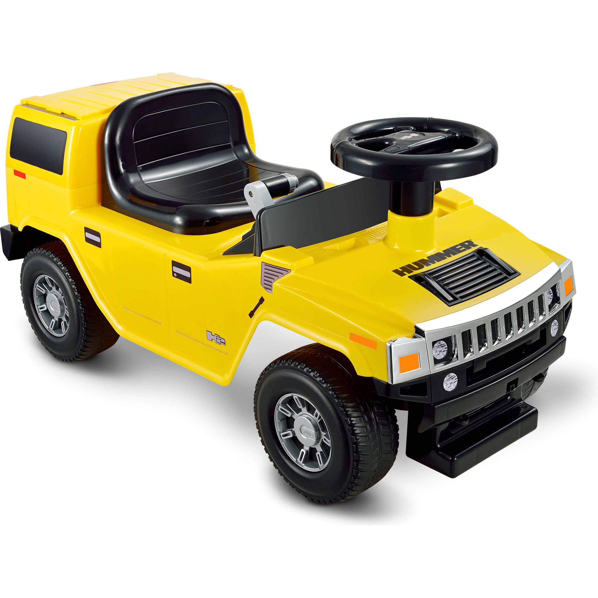 Kid Motorz Hummer H2 Ride-On, Yellow