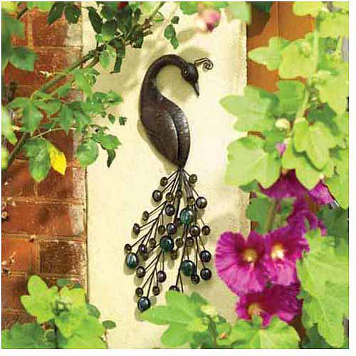"Gardman Peacock Wall Art, 8-3/4""L x 19""W"