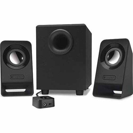 Logitech Z213 Multimedia Speakers  Black