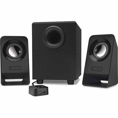 Logitech Z213 Multimedia Speakers, Black