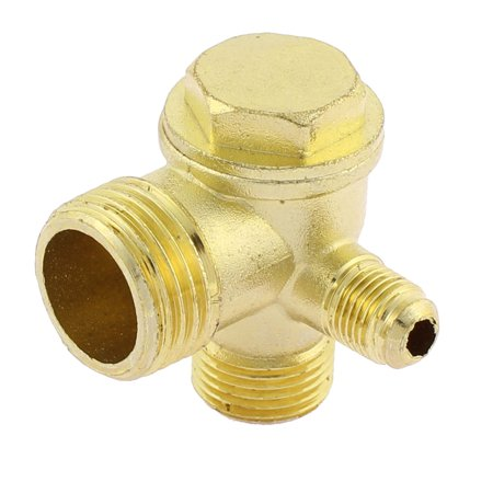 Compressor Part Replacement - 20mm Dia Male Thread Air Compressor Check Valve Replacement Parts