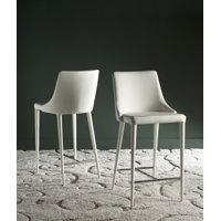 Safavieh Summerset Contemporary Glam Counter Stool with Footrest