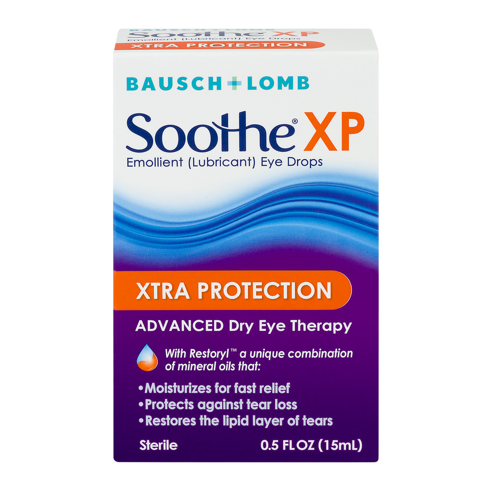 Soothe XP Xtra Protection Advanced Dry Eye Drops Therapy, 0.5 FL OZ - Walmart.com | Tuggl