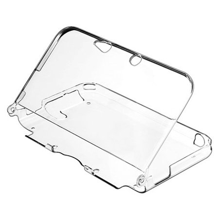 Protective Crystal Hard Case (3DS XL Case - Ultra Clear Crystal Transparent Hard Shell Protective Case Cover Skin Accessory Compatible with Nintendo 3DS XL LL )
