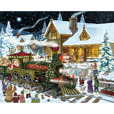 Christmas Jigsaw Puzzles.Santas Express Christmas Jigsaw Puzzle 1000 Piece