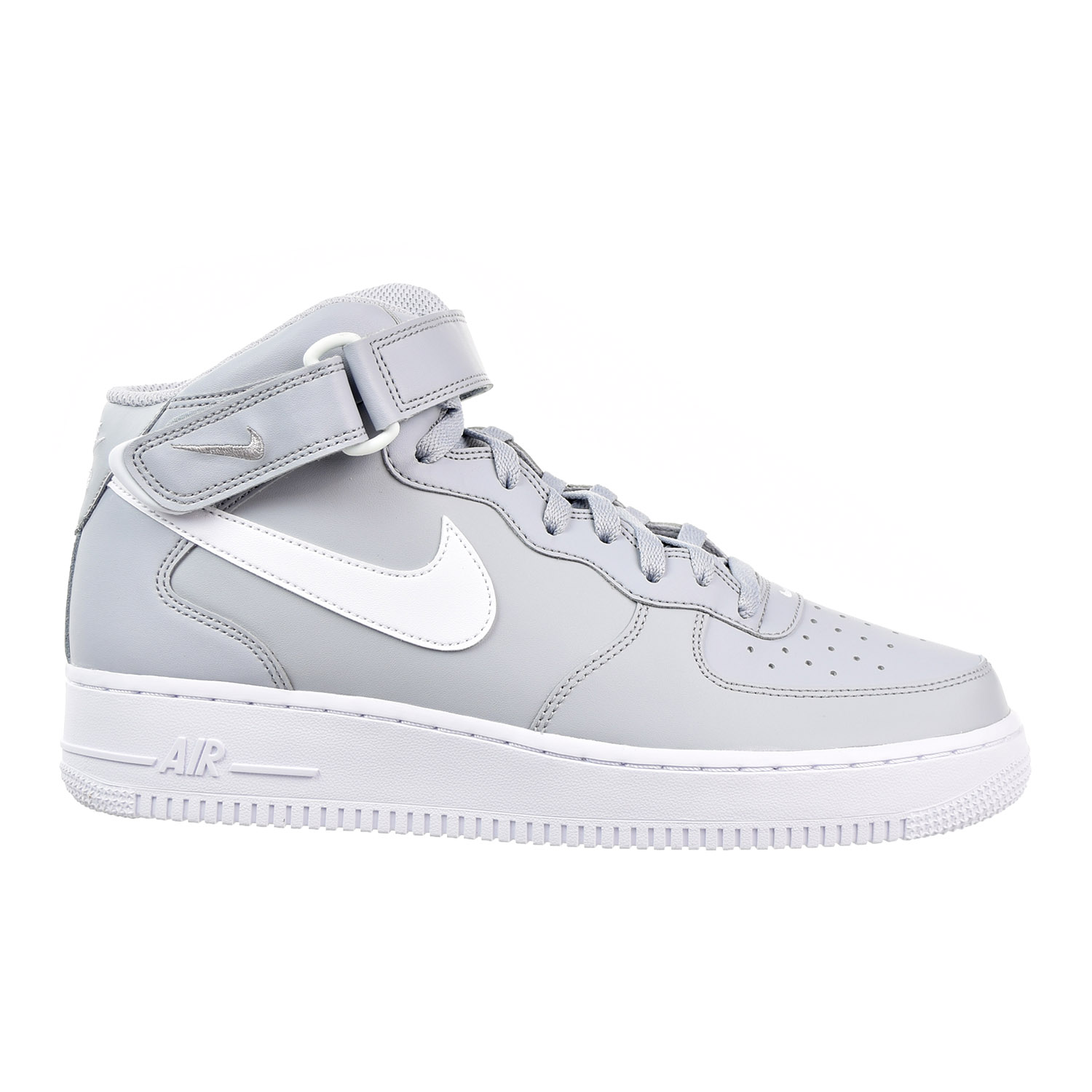 Nike Lab Air Force 1 Mid 07 Men's Shoe Wolf Grey/White 31...