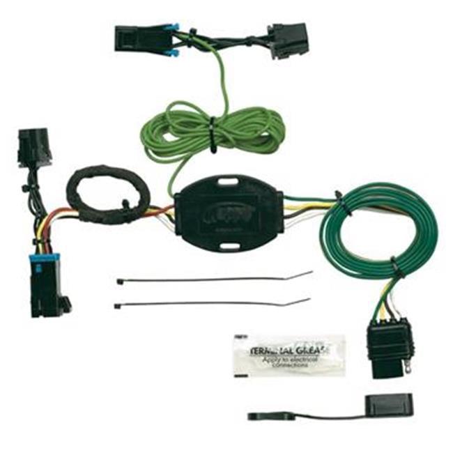 Hoppy 41325 Trailer Wiring Connector Kit  4 Way Flat