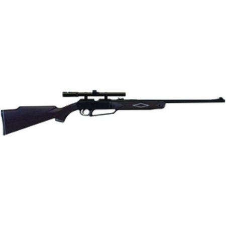 - Daisy Powerline 880 Air Rifle, .177 cal, Black, w/ Scope