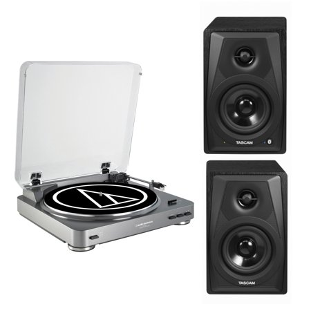 - Audio-Technica AT-LP60 Turntable with Bluetooth Monitors Bundle