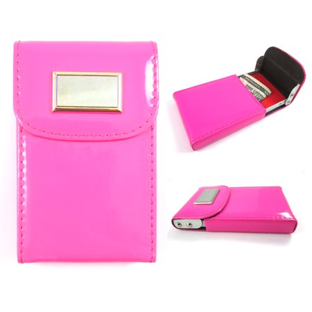 New hot pink business card holder id credit case wallet women bag new hot pink business card holder id credit case wallet women bag case lady colourmoves