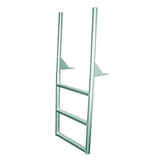 JIF MARINE EFLSN4 4-Step Dock Ladder Anodized Aluminum - image 1 of 1