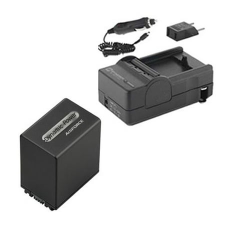 Sony FDR-AX33 Camcorder Accessory Kit includes: SDNPFV100 Battery, SDM-109 - Camcorder Battery Kit
