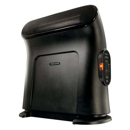 Honeywell Thermawave Electric Heater, Black, HCE860BWM ()