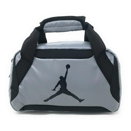 Nike Jordan Premium Insulated Lunch Tote Bag, Cool Gray (Michael Jordan Lunch Box)