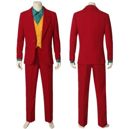 2019 Joker Costume Halloween Cosplay Party Outfit Suit for (Mickey's Costume Party 2019)