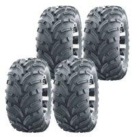 Set of 4 WANDA ATV UTV tires 25x8-12 25X8X12 Front & Rear 6PR P373